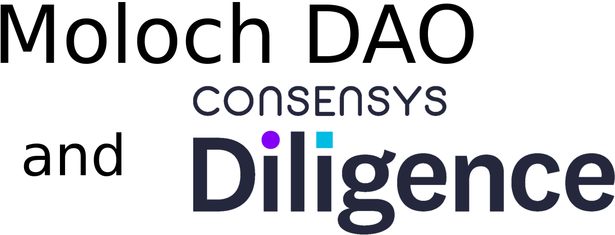 Moloch DAO and ConsenSys Diligence